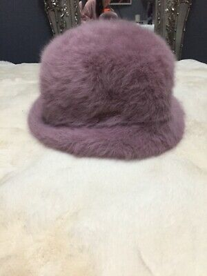 Pink Fur Kangol Hat ,,90s-early 2000s
