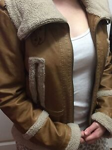 Guess aviator jacket worn once!