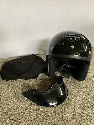 Harley-Davidson® Modular Helmet Black with Gray Flamss (Large) (BRAND NEW)