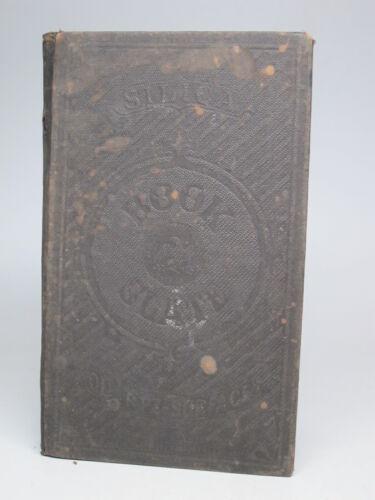 Antique Silica Book Slate Co Writing Chalk Slate 1867 School Reusable
