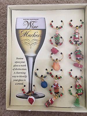 Подвески Wine Glass Wine Markers NEW