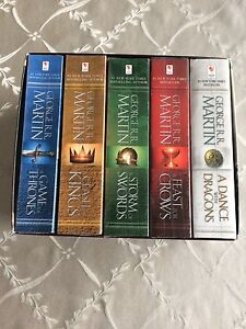 Game of Thrones five book boxed set