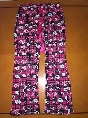 Sweet Tart Hearts (Women's Sweet Tart Pink Hearts PJs Pajamas Size L Large)