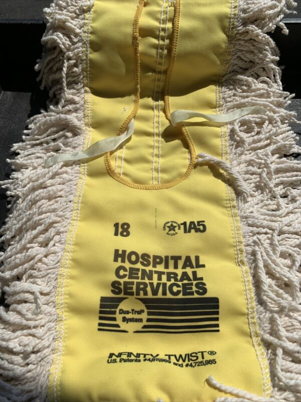 """Hospital Central Services 18"""" Replacement Broom Head"""