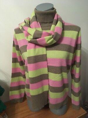 Orwell  Rollkragenpullover Gr. 36 38 sehr schön,Mit passendem Schal dazu - Rollkragen Pullover Schal