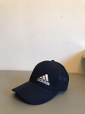 Adidas Baseball Dark Blue Hat, Adjustable Back