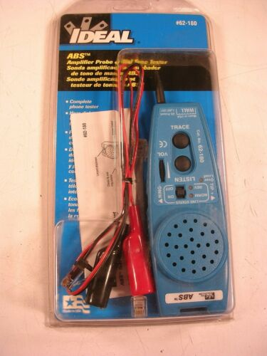 IDEAL ABS AMPLIFIER PROBE & DIAL TONE TESTER 62-180 NEW
