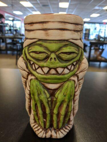 Rummy Mummy Tiki Mugs Green-NIB