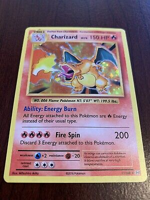 Charizard 11/108 Holo Rare XY Evolutions Pokemon Card NM Near Mint
