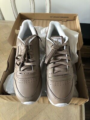 Reebok Classic Leather Spirit Face Stockholm Trainers UK 7.5