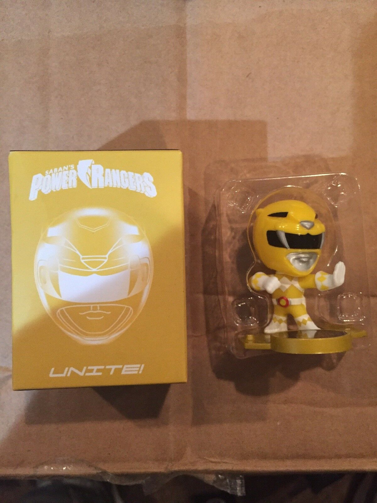 Rare LOOT CRATE EXCLUSIVE MIGHTY MORPHIN POWER RANGERS BLACK RANGER MINI FIGURE