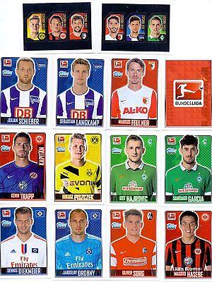 Gebraucht, 2014/2015 Fussball Bundesliga Topps 56x Sammelkarten Sticker Sammelsticker Penny gebraucht kaufen  Deutschland