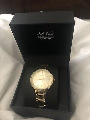 Jones New York Gold Ladies Watch