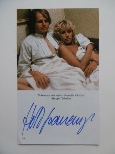 Herbert Grönemeyer Autogramm signed 11x18 cm Magazinbild