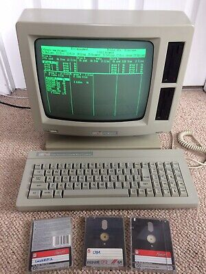 "Amstrad PCW 8512 Vintage Computer - 512k Working with 3"" Disks - Refurbished"