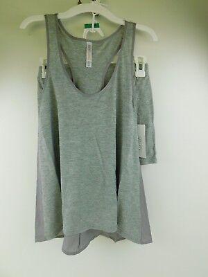 Gilligan & O'Malley Grey Heather 2 Piece Sleep Shorts & Tank Top Pajamas Medium (2 Piece Shorts Tank Top)