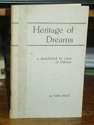 Heritage de Sueños: un Sketchbook en Verso de Orkney, Escocia, Vera Rich...
