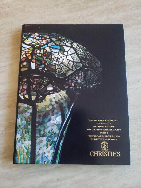 THE BARBRA STREISAND COLLECTION OF 20TH CENTURY ART CHRISTIE