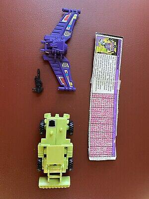 Transformers Gen1 Scrapper - Devastator 100% Complete Original Vintage
