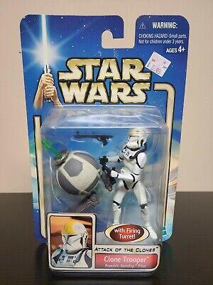 Clone Trooper Republic Gunship Pilot Star Wars Attack of the Clones 2002  NEW