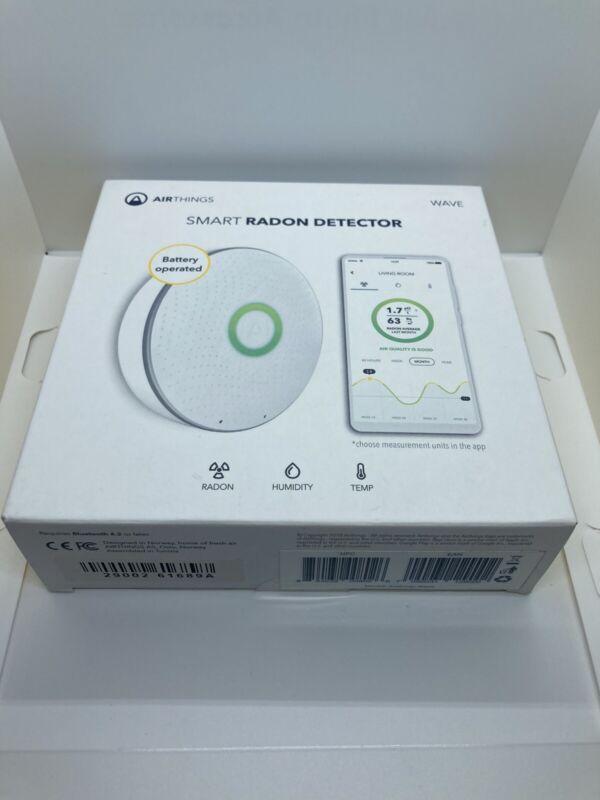 Airthings - Wave Smart Radon Detector-7090031129002