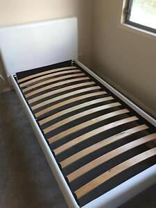 Single bed frame - White Pacific Pines Gold Coast City Preview