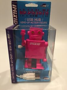 USB Wind Up Action Figure