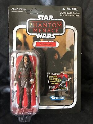 Star Wars The Phantom Menace Vintage Collection UNPUNCHED! VC85 QUINLAN VOS 2011