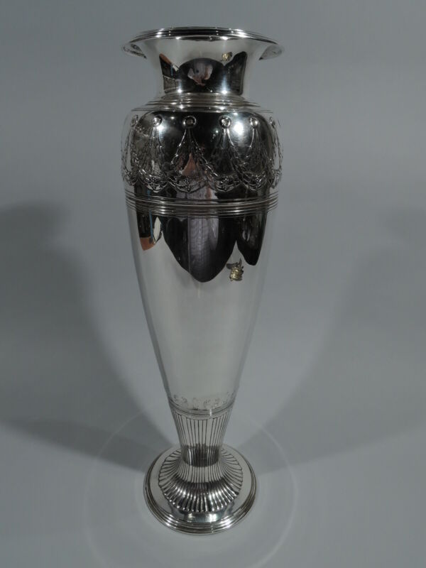 Tiffany Vase - 17031 - Antique Art Deco Classical - American Sterling Silver