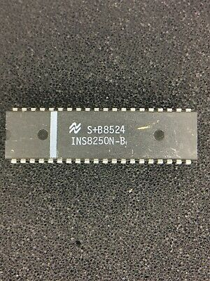 Ins8250n-b Nsc Bit Analog To Digital Converter 2 Pieces