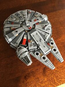 Lego millennium falcon.  No figs