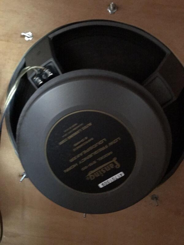 Altec  lansing vintage Horn Loudspeakers 515-8G Pair With Boxes