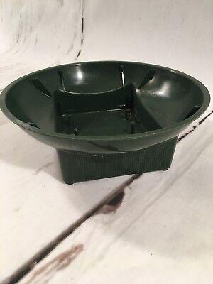 Syndicate Sales Dark Green Fresh Flower Floral Centerpiece Design Bowl #73