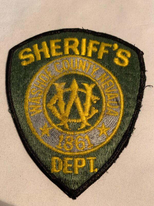 Washoe County, Nevada, Sheriff's Dept Uniform Patch