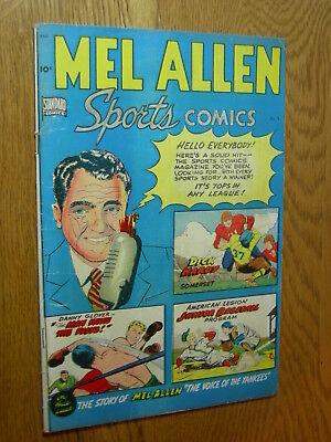 Mel Allen Sports Comics #5 G/VG tops in any league