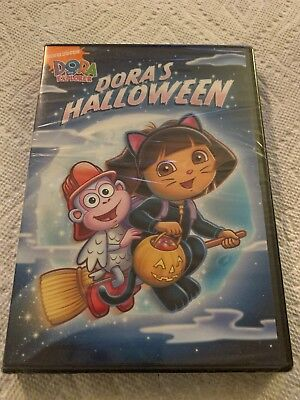 Dora the Explorer - Doras Halloween (DVD, 2009, Canadian Re-Packaged - Halloween The Full Movie