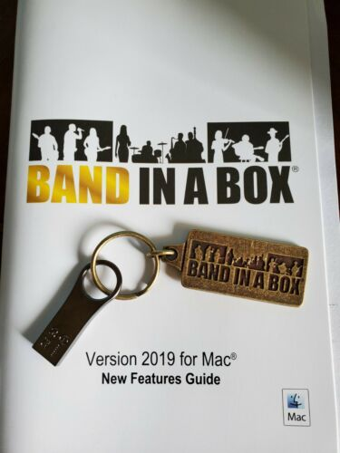 Band In A Box Pro for Mac 2019-Open Box-USB