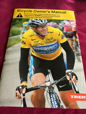 0407f50eec3 TREK Bicycle Owners Manual with CD Lance Armstrong