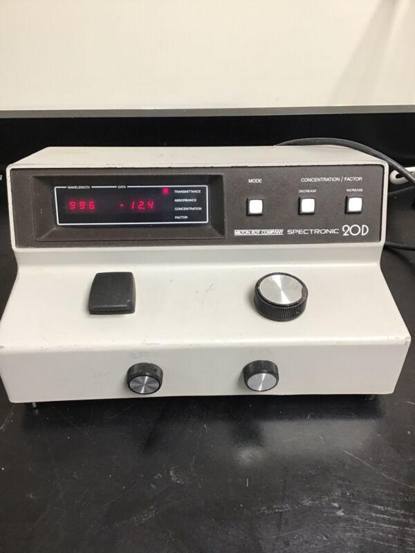 Spectronic 20D Digital Spectrophotometer 333175 Lab Equipment