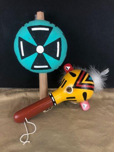 Hopi Kachina Dance Rattles