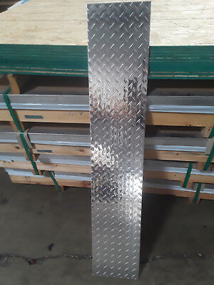 .125 18 X 8.5 X 48 Aluminum Diamond Plate - 4 Pack