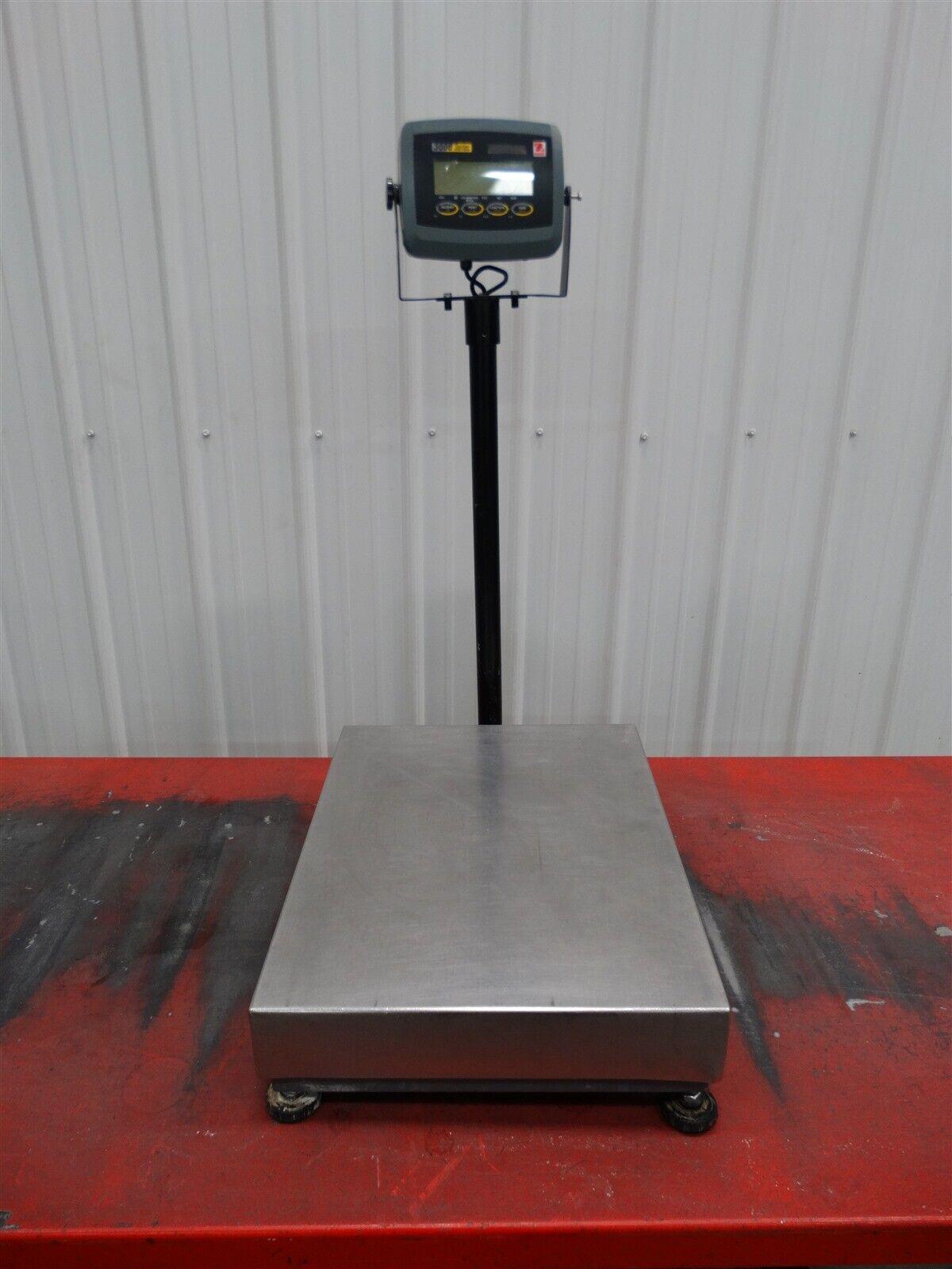 Ohaus 3000 Series M/N: T31P/D60BL W/Mettler Toledo Scale MT12060 P/N 72207408