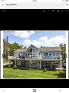 Waterfront Home for sale in Middle New Cornwall,  NS