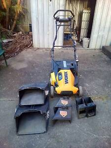 Worx 36v Cordless Electric Lawn Mower + Spare Parts Springwood Logan Area Preview