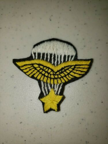 K1034 WW2 France French Army Sleeve Patch Free French Paratroopers Brown L3B