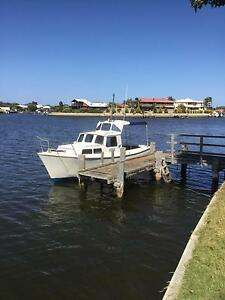 Pilot 24 cabin boat for sale South Yunderup Mandurah Area Preview