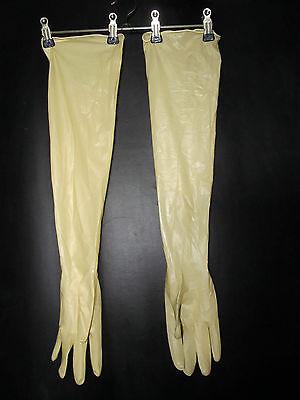 Latex-Handschuhe,BioClean Maxima,Latex,sterile Handsker,60 cm lang,-,M-7,5