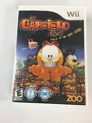 The Garfield Show Threat of the Space Lasagna Nintendo Wii 2010 Garfield (The Garfield Show Threat Of The Space Lasagna)