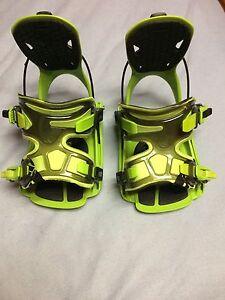 Flow snowboarding bindings