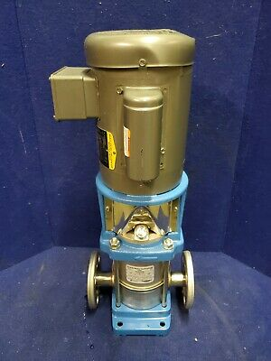 1 Hp Baldor Electric Motor W Goulds E-sv 3sv5fa30 Water Pump